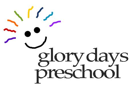 2021-22 Glory Days Preschool Registration